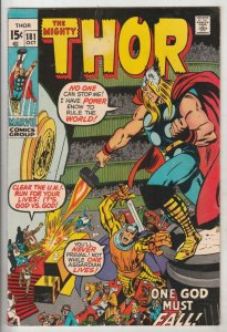 Thor, the Mighty #181 (Oct-70) VF+ High-Grade Thor