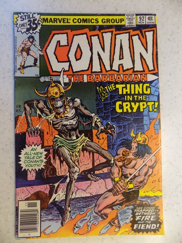 CONAN THE BARBARIAN # 92