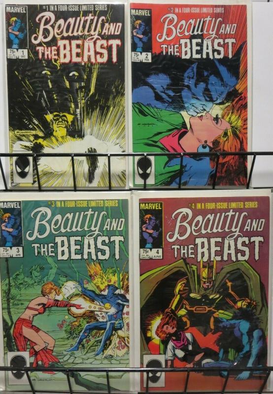 BEAUTY & THE BEAST (1985)   1-4; Sienkiewicz