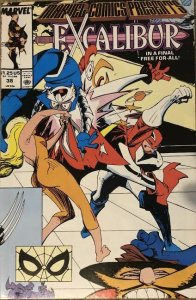 Marvel Comics Presents: Excalibur Issue 38!
