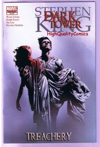 Stephen King DARK TOWER TREACHERY 6, VF+, Gunslinger, 2008, more SK in store