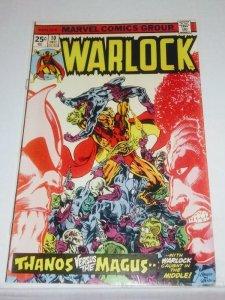Warlock #10 (7.0-7.5) 1975 Thanos Magus (id05a)