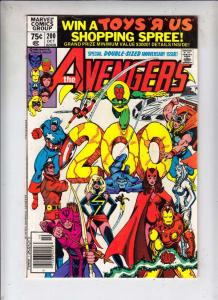 Avengers, The #200 (Oct-80) VF/NM High-Grade Avengers