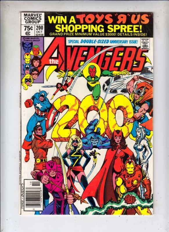 Avengers, The #200 (Oct-80) VF/NM High-Grade Avengers