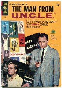 MAN FROM U.N.C.L.E. #6 1966-Robert Vaughn & David McCallum photo cover FN
