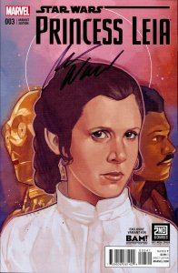 Star Wars Princess Leia #3 BOOKS-A-MILLION Variant signed by Mark Waid NM BAM!