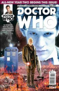 Doctor Who: The Eleventh Doctor Year Two #1B VF/NM; Titan | save on shipping - d