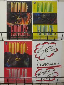 BATMAN RUN RIDDLER RUN (1992) 1-3  Complete Series!