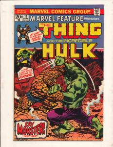 Marvel Feature (1971 series) #11, Fine+ (Actual scan)