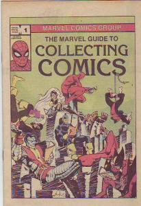 Marvel Guide to Collecting Comics #1 (Jan-82) NM- High-Grade Spider-Man, X-Me...