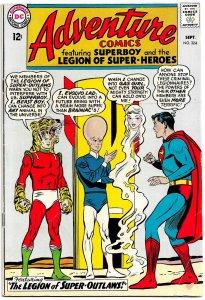 ADVENTURE COMICS #324 (Sept'64) 8.0 VF • SUPERBOY & LEGION of SUPER-HEROES!