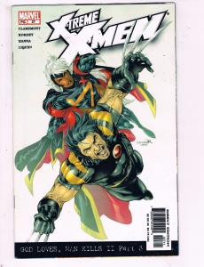 Xtreme X-Men #27 VF Marvel God Loves Man Kills II Part 3 Comic Book 2001 DE9