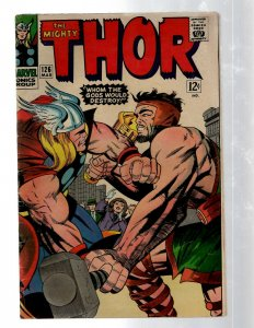 Mighty Thor # 126 VG- Marvel Comic Book Loki Odin Asgard Sif Avengers Hulk RB8