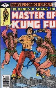 Master of Kung Fu #81 ORIGINAL Vintage 1979 Marvel Comics Shang Chi