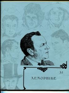 Xenophile #32 1977-top pulp collector fanzine-for sale ads-Max Brand-FN