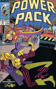 Power Pack #34 FN; Marvel   save on shipping - details inside