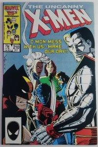 The Uncanny X-Men #210 - Key 1st Appearance Marauders - NM - Marvel Comics 1986
