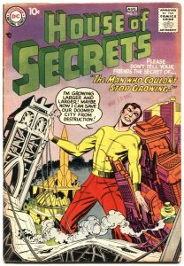 HOUSE OF SECRETS #11-1958-JACK KIRBY COVER-MYSTERY AND SCIENCE FICTION-HORROR