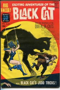 BLACK CAT-#65-1963-HARVEY-FINAL GIANT SIZE ISSUE-SPICY SUPER HEROINE-vf minus