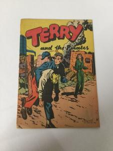 Terry And The Pirates Vg Very Good 4.0 Spine Splitting Chicago Tribune