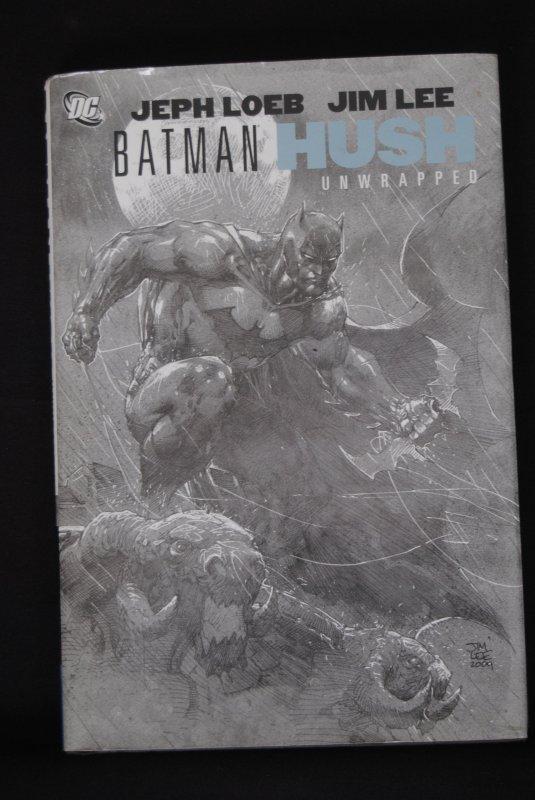 Batman Hush, Jeph Loeb, Jim Lee, Unwrapped, RARE!