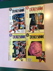 Deadshot 1 2 3 4 Full Run 1st Mini Series
