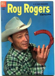 Roy Rogers #80 1954-Dell Golden Age Western- Nice VF