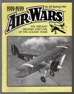 Air Wars #25  Spring 1991-Aircraft & air warfare of the middle years 1919-1939-G