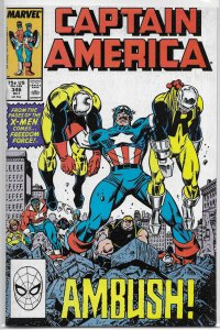 Captain America   vol. 1   #346 FN Gruenwald/Dwyer, Freedom Force, Walker