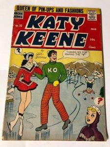 KATY KEENE 33 VERY GOOD MINUS March 1957 Bill Woggon