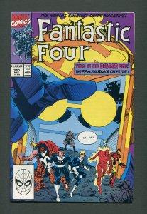 Fantastic Four #340  / 9.4 NM  /  May 1990