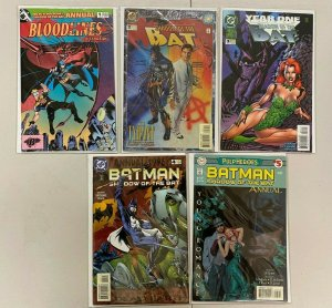 Batman Shadow of the Bat set #1-5 Annual 5 different books 8.0 VF (1993 to 1997)