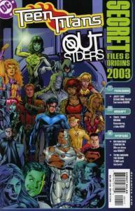 Teen Titans (2003 series) Outsiders Secret Files #1, NM (Stock photo)