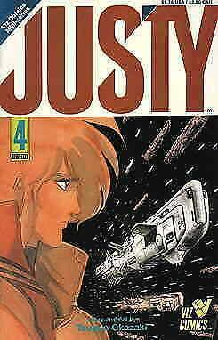 Justy #4 VG; Viz | low grade comic - save on shipping - details inside