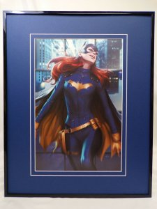Batgirl #31 Framed 16x20 Poster Display DC Comics Artgerm