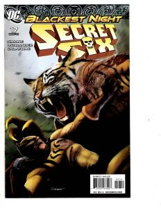 4 Secret Six DC Comic Books # 17 18 21 22 Catman Deadshot Deathstroke J128