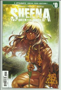 SHEENA QUEEN of the JUNGLE #0, VF/NM, Variant, Moritat, more indies in store