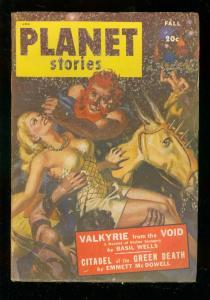 PLANET STORIES PULP-FALL '48-FICTION HOUSE-RAY BRADBURY G