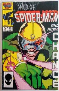 Web of Spider-Man #15 (NM-)(1986)