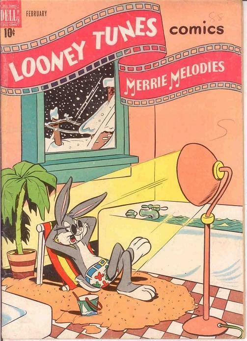 LOONEY TUNES 88 VG-F    February 1949 BUGS BUNNY COMICS BOOK