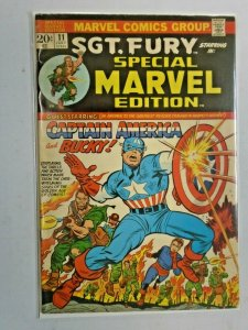 Special Marvel Edition #11 Captain America 4.0 VG (1973)