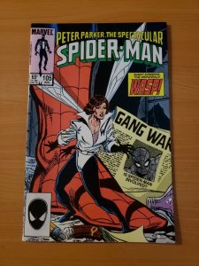 Spectacular Spider-Man #105 Direct Market Edition ~ NEAR MINT NM ~ 1985 Marvel
