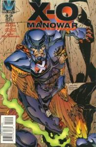 X-O Manowar (1992 series) #52, VF+ (Stock photo)