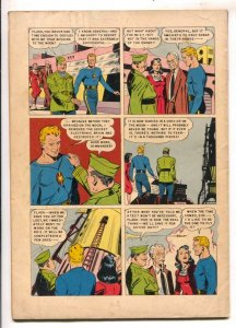 Flash Gordon- Four Color Comics #424-1952 Dell-John Lehti art-Test Flight In ...
