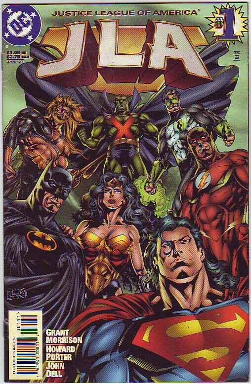 JLA #1 (Jan-97) FN/VF Mid-High-Grade Justice League of America