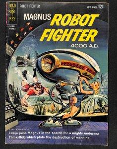 Magnus, Robot Fighter #4 (1963)