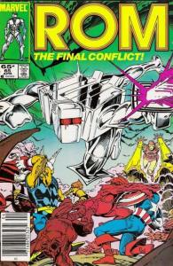 Rom (1979 series) #65, VF+ (Stock photo)