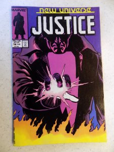 NEW UNIVERSE JUSTICE # 16