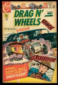 DRAG N' WHEELS #31 1968 CHARLTON COMICS RACING HEARSE VG