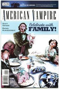 AMERICAN VAMPIRE #25, VF/NM,Death Race, Vertigo,2010,1st printing,more in store